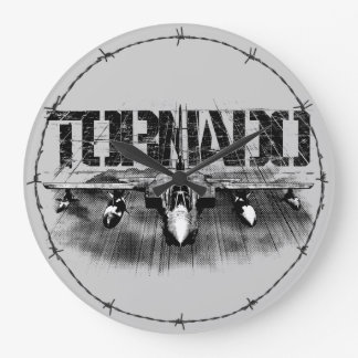 Tornado IDS Round (Large) Wall Clock