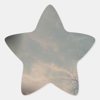 Tornado in Denver Star Sticker