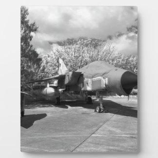 Tornado jet aircraft display plaques