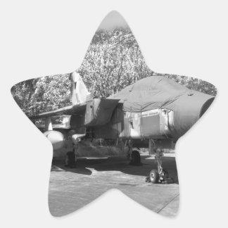 Tornado jet aircraft star sticker
