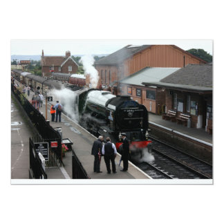 Tornado loco at Bishops Lydeard, Somerset Card