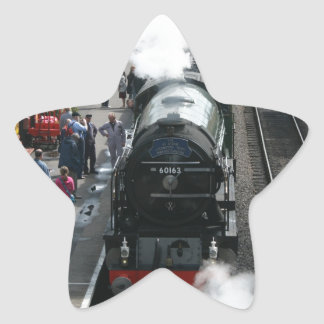 Tornado loco at Bishops Lydeard, Somerset Star Sticker