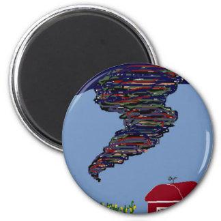 Tornado! magnet