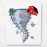 Tornado Mouse Pads