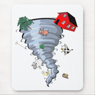 Tornado Mouse Pads