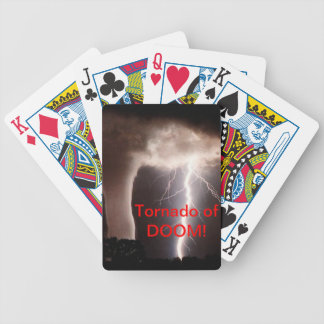 Tornado of DOOM! Paying Cards Bicycle Playing Cards