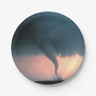Tornado Paper Plate