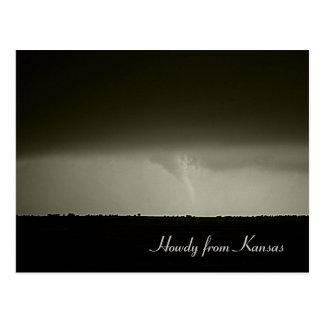 Tornado Post Card
