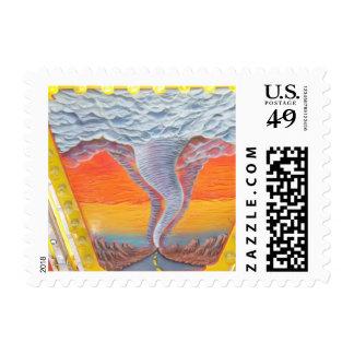Tornado Postage Stamps
