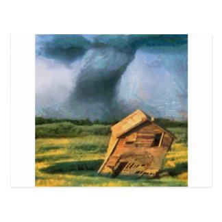 Tornado Postcard