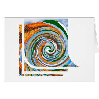 Tornado Revolution Waves : Nature Blaast Beautiful Greeting Card