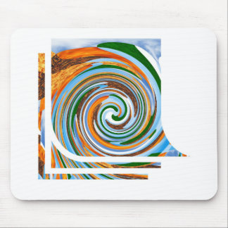 Tornado Revolution Waves : Nature Blaast Beautiful Mouse Pad