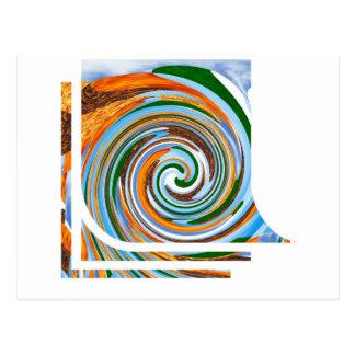Tornado Revolution Waves : Nature Blaast Beautiful Postcard