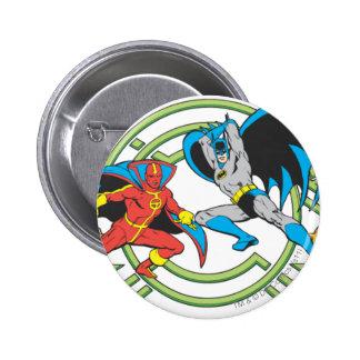 Tornado rojo + Batman Pin