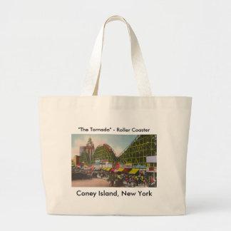 Tornado Roller Coaster - Coney Island NY /The Bobs Tote Bag