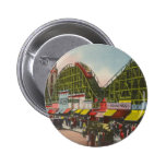 Tornado Roller Coaster - Coney Island NY /The Bobs 2 Inch Round Button