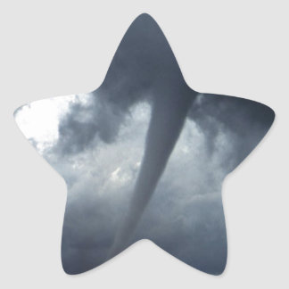 Tornado Star Sticker