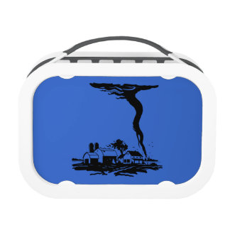 Tornado Storm Chaser Weather Twister Lunch Box