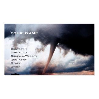 Tornado Tarjetas De Negocios