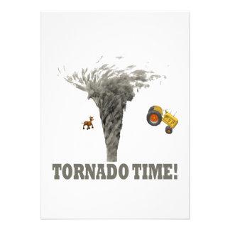 TORNADO TIME ANNOUNCEMENT