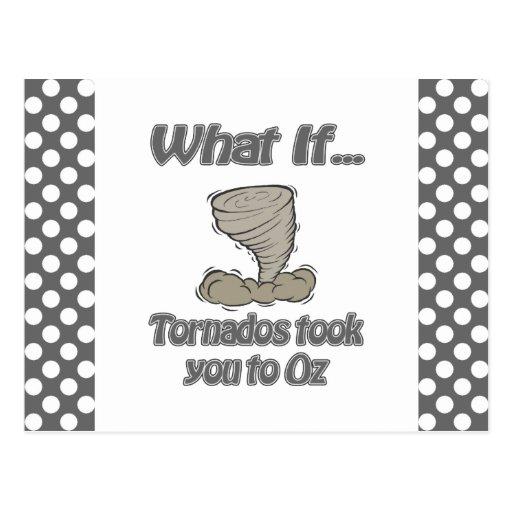 Tornado to Oz Post Cards