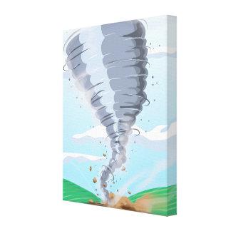 Tornado Twister Canvas Print