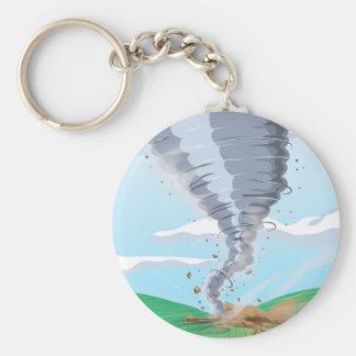 Tornado Twister Keychain
