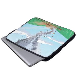 Tornado Twister Laptop Computer Sleeves