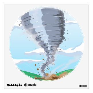 Tornado Twister Wall Sticker