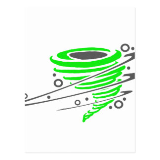 Tornado verde de giro postal