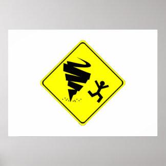 Tornado Warning Sign