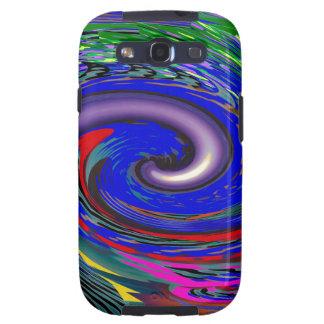 Tornado Wave Pattern Galaxy S3 Case