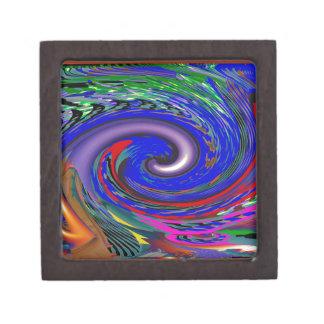 Tornado Wave Pattern Gift Box