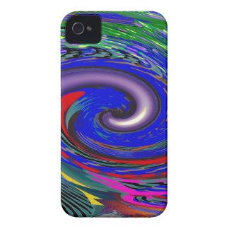 Tornado Wave Pattern iPhone 4 Case-Mate Case