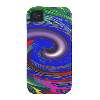 Tornado Wave Pattern Vibe iPhone 4 Cover