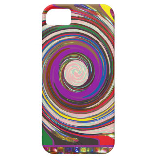 Tornado Whirlwind HighTide Waves colorful art iPhone SE/5/5s Case