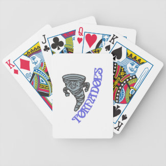 Tornadoes Bicycle Playing Cards