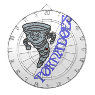 Tornadoes Dartboard With Darts