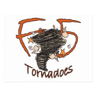 Tornados F5 Tarjeta Postal