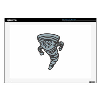 """Tornados Mascot Decal For 17"""" Laptop"""