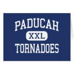 Tornados Paducah medio Kentucky de Paducah Tarjeta