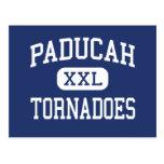 Tornados Paducah medio Kentucky de Paducah Tarjeta Postal