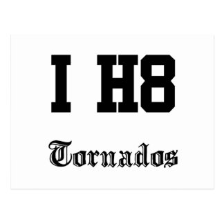 tornados postcard