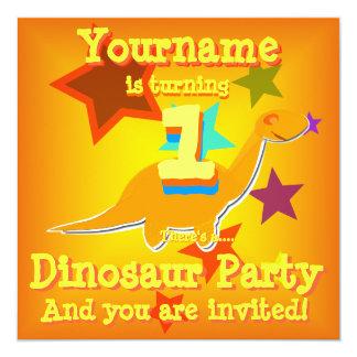 Torneado de 1 primera invitación del fiesta del invitación 13,3 cm x 13,3cm