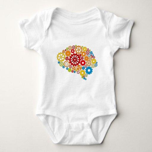 Torneado de los engranajes de la mente body para bebé