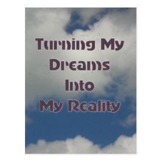 Torneado de sus sueños en realidad postales