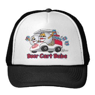 Torneo del golf del bebé del carro de la cerveza gorro de camionero