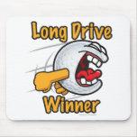 Torneo premiado del golf del agujero del ganador d alfombrilla de ratón