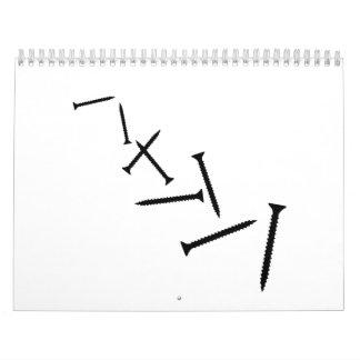Tornillos Calendarios De Pared