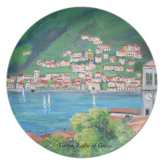 Torno, Italy Plate